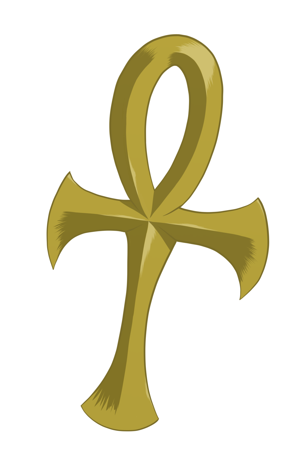 Ankh transparent. By ixbalam on deviantart banner royalty free stock