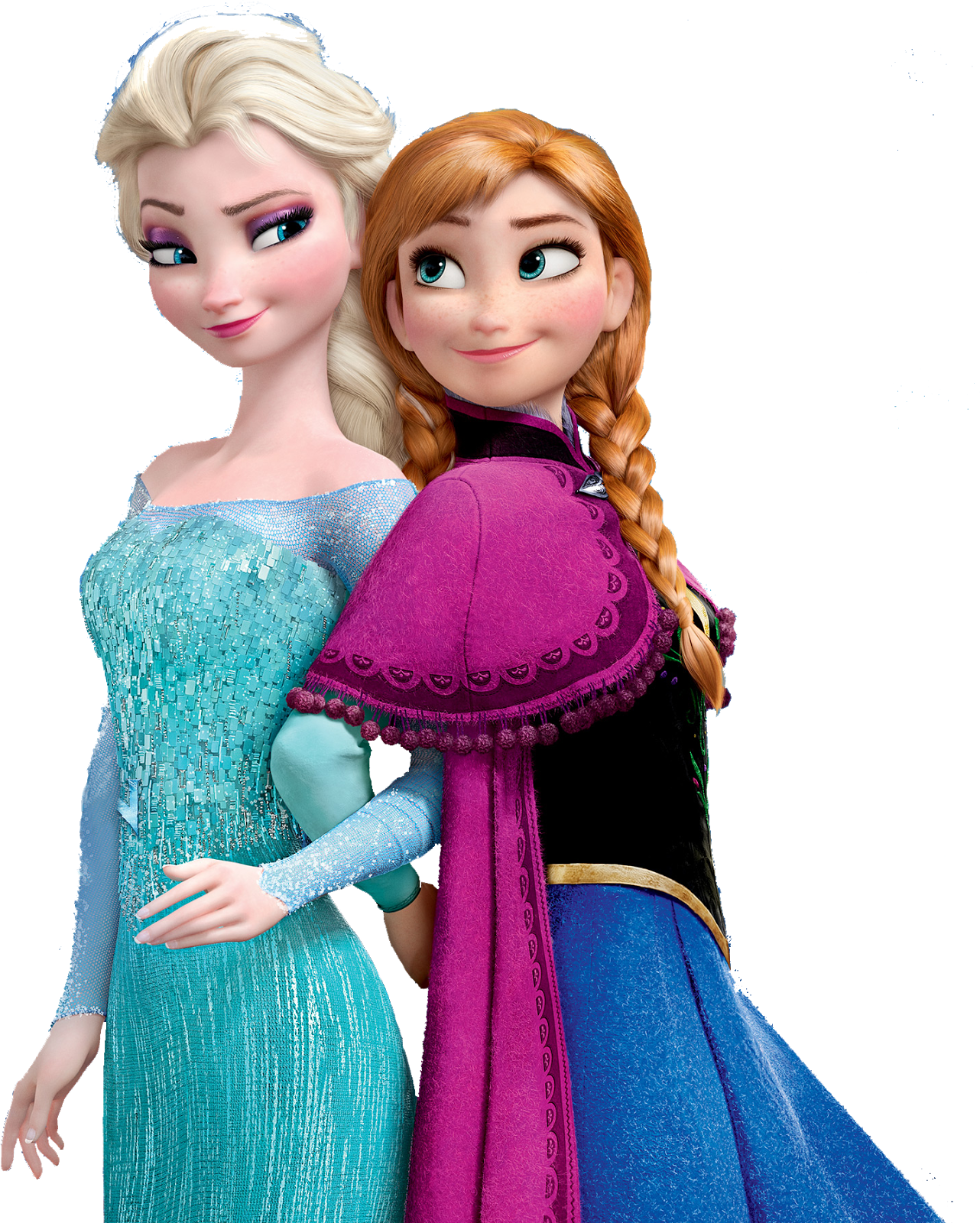 Anna and elsa png. Frozen transparent images all