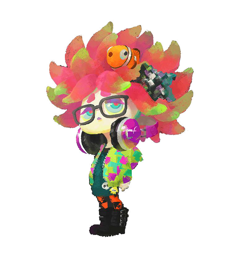 Success drawing business. Annie from splatoon costumes