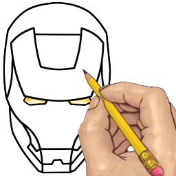 Annie drawing step by. How to draw superheroes