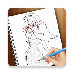 Annie drawing step by. How to draw princess