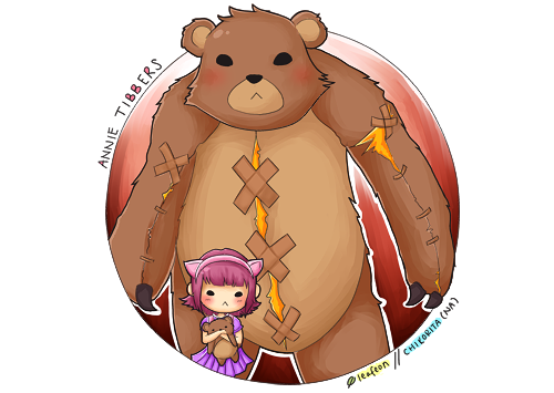 annie drawing tibbers