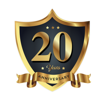 Anniversary celebration silver label and ribbon png. Th vectors psd