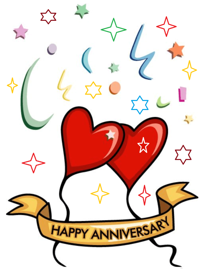 Anniversary clipart. Happy marriage wishes best
