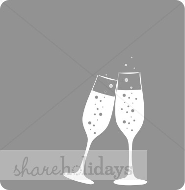Anniversary clipart champagne flute. Flutes background new year