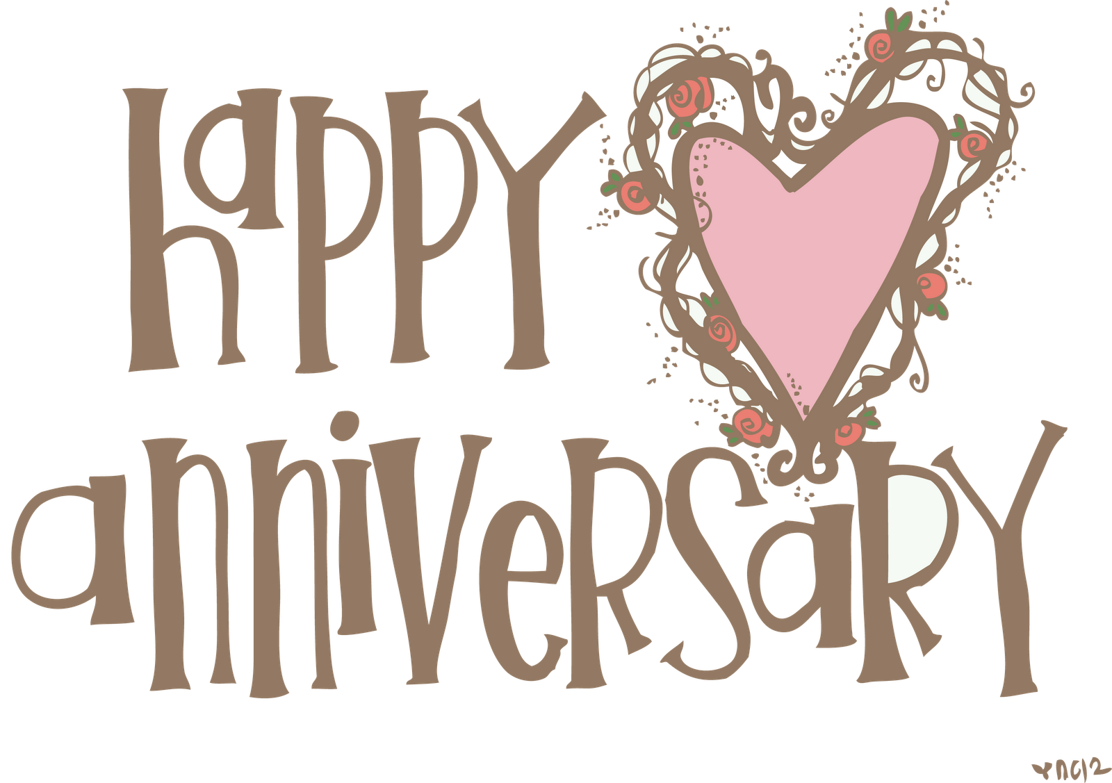 Anniversary clipart cute. Happy download wedding clip