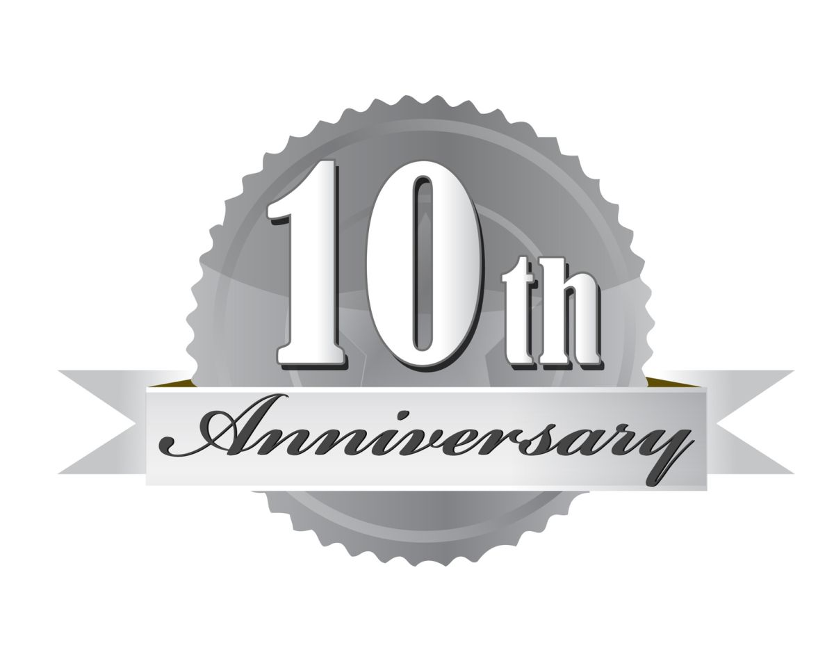 Anniversary clipart milestone. New year and a