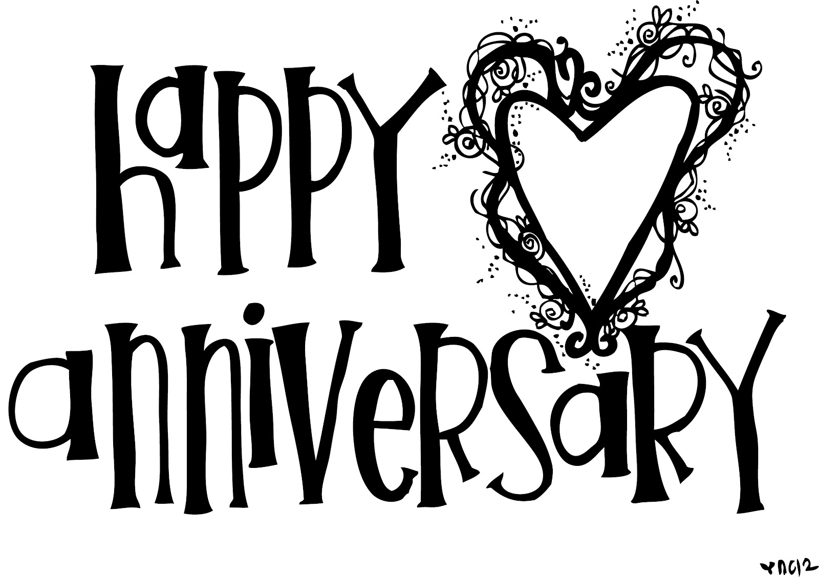 Anniversary clipart november. Happy the weight of