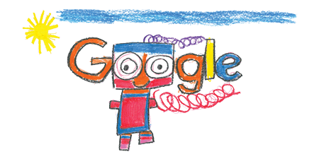 Googlr drawing doodle 4 google. Th anniversary of