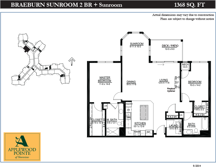 Annotated drawing sunroom construction. Senior co op housing