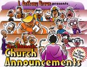 Announcement clipart church. Announcements open library by