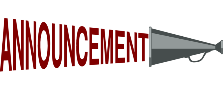 Announcement clipart upcoming event. Vibrant idea megaphone cryptocurrency