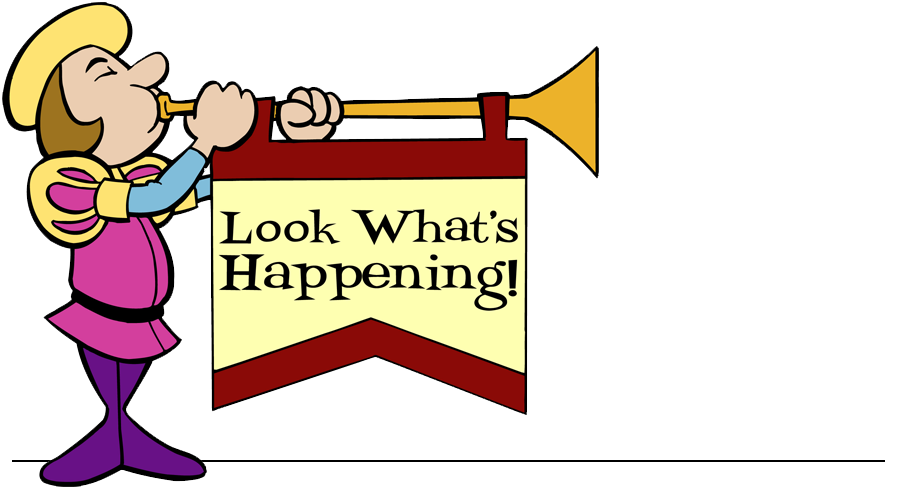 Announcement clipart upcoming event. Is clip art free