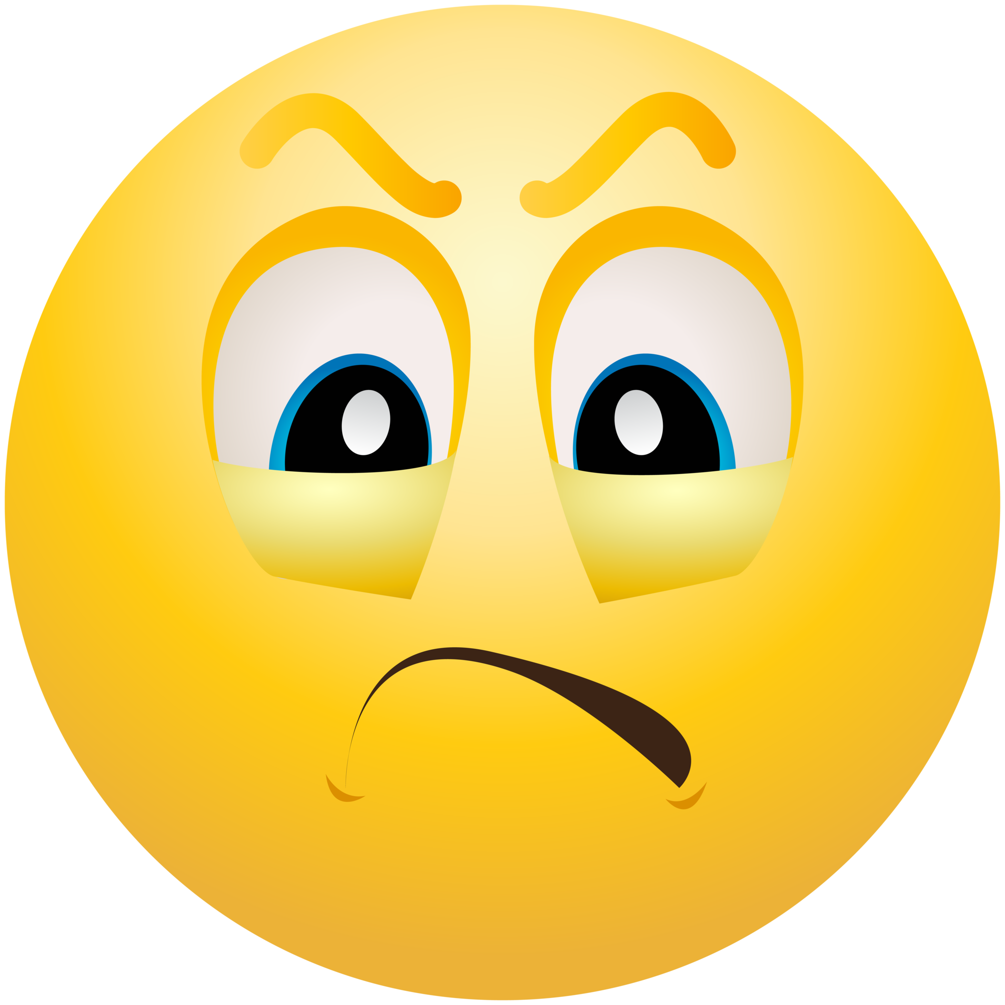 Annoyed emoji png. Face angry emoticon clipartix