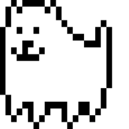 Annoying dog png. Undertale roblox