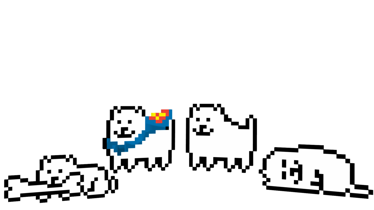 Annoying dog png. Mmd undertale dl by