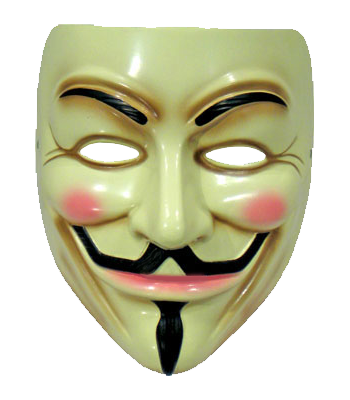 Anonymous mask hd png. Download free transparent image