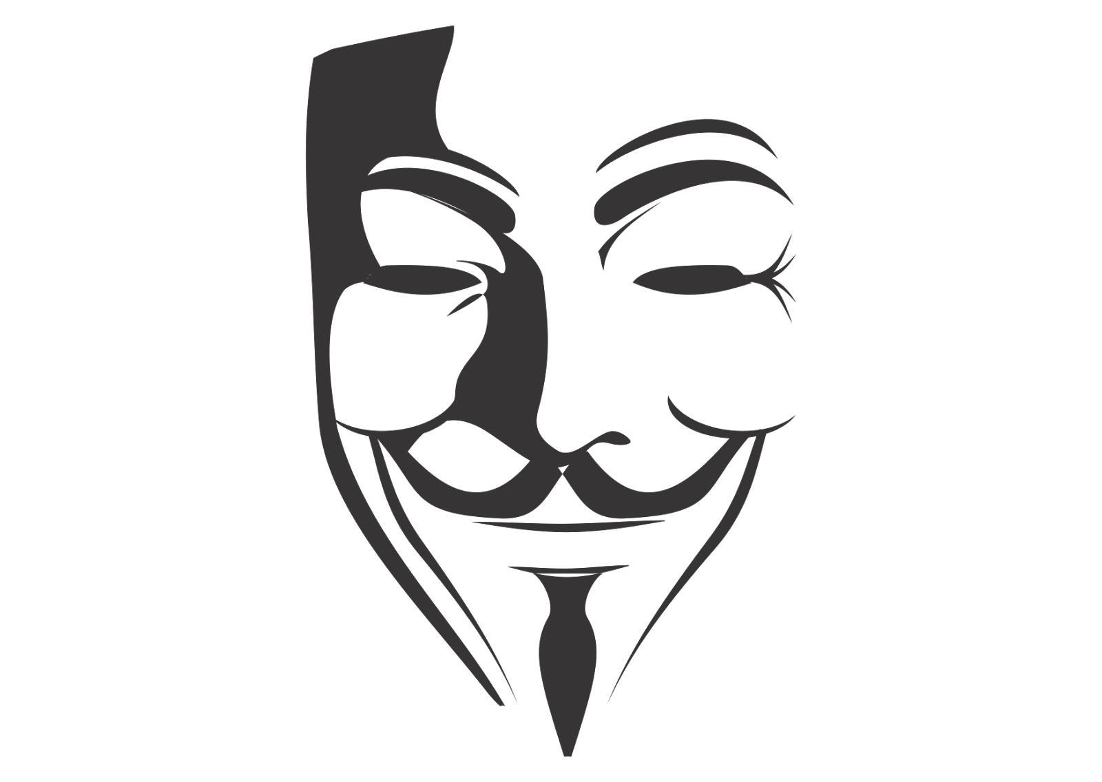 Anonymous Mask Wallpaper Transparent Png Clipart Free Download Ywd