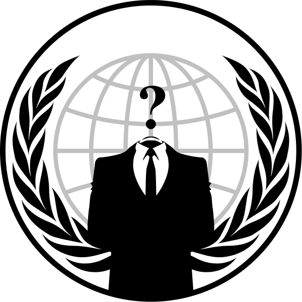 File emblem svg wikimedia. Anonymous png black and white library