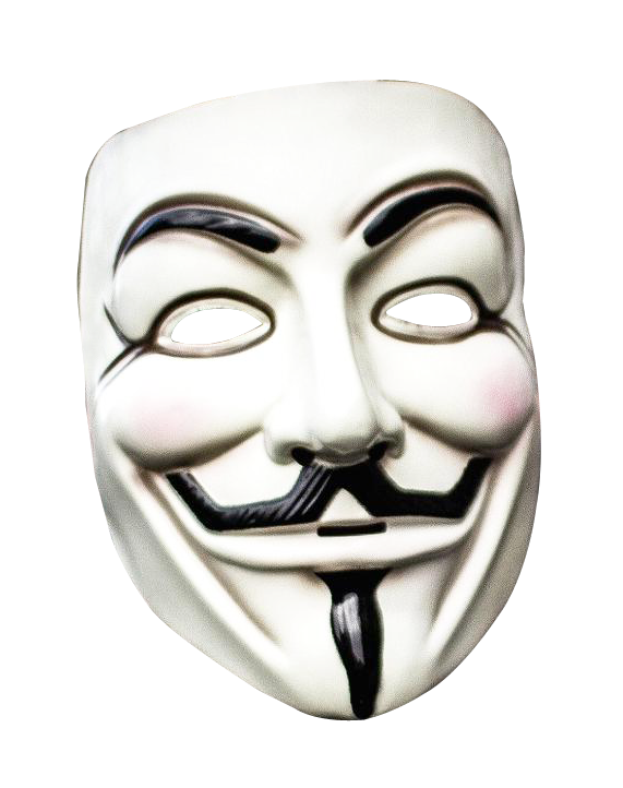 Anonymous png. Picture vector clipart psd