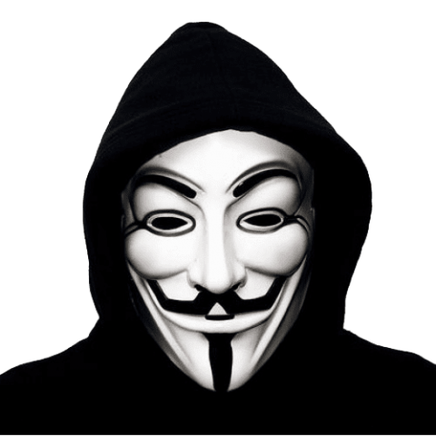 Anonymous png. Mask free images toppng
