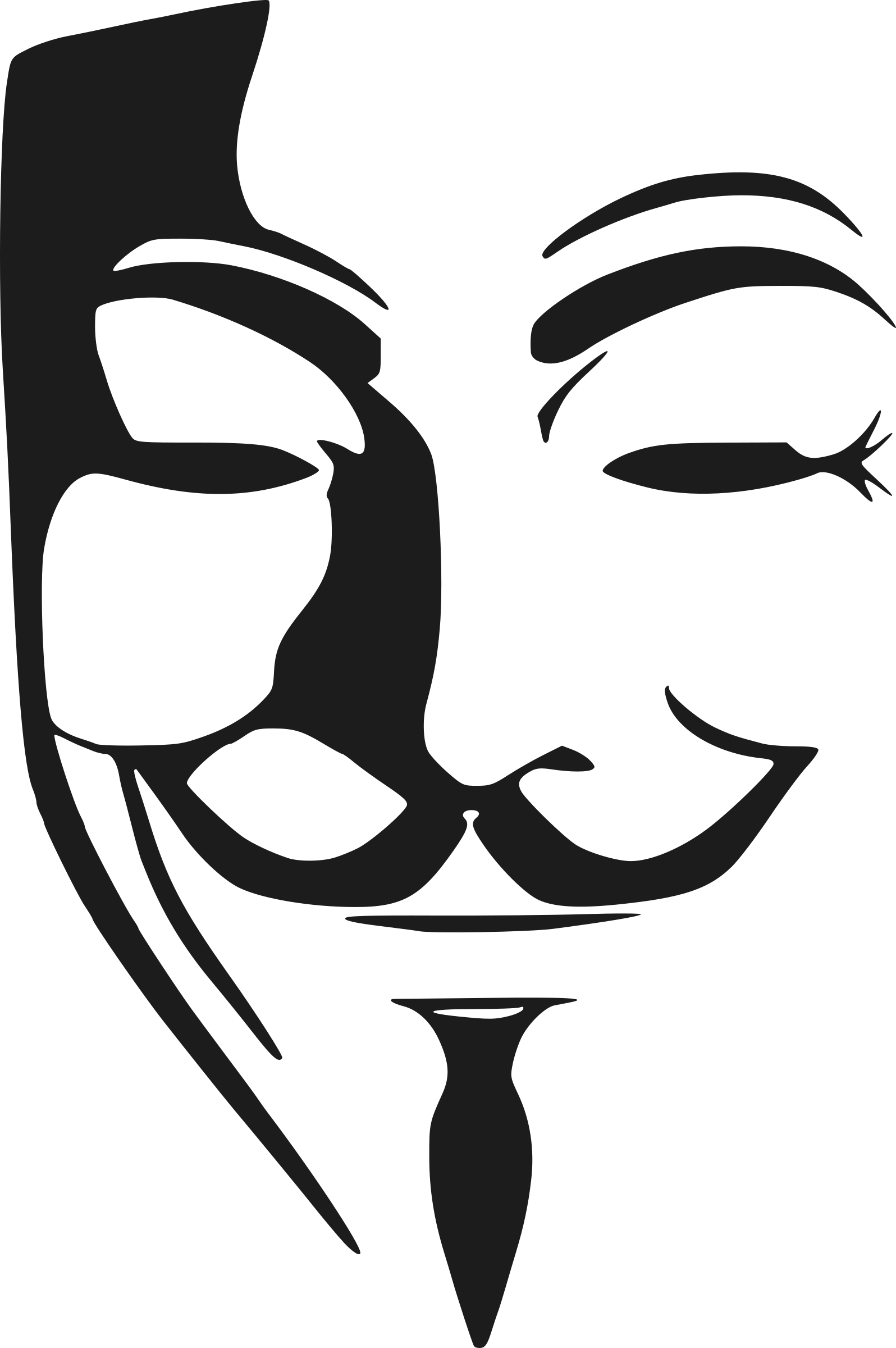 Anonymous .png. Clipart mask big image