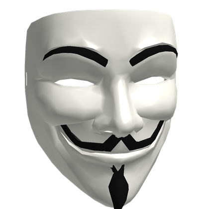 Anonymous png. Mask
