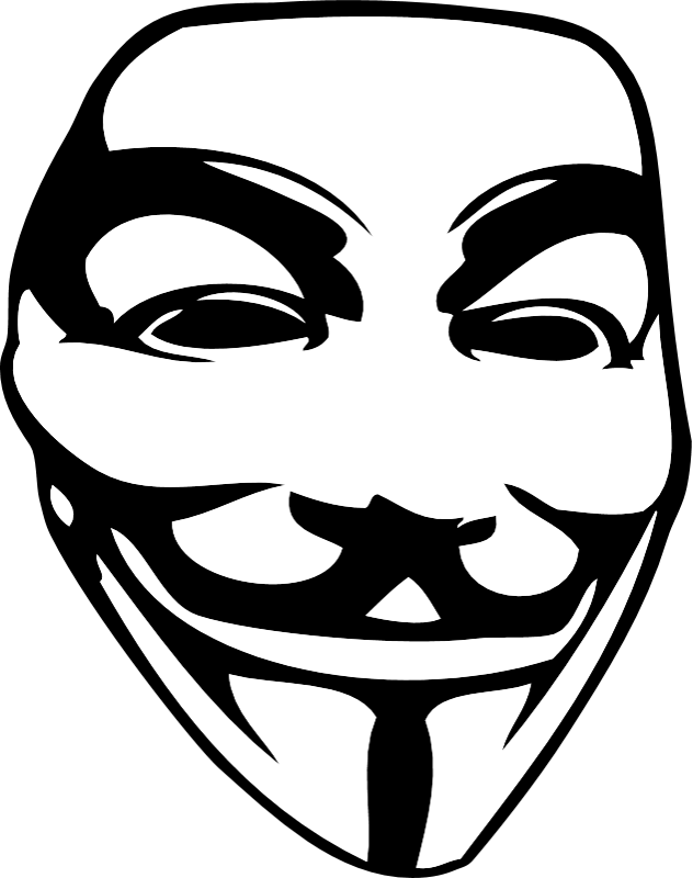 Anonymous vector mask guy fawkes. The sticker products