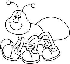 Ant clipart black and white. Google search coloring pages