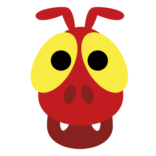 Ant clipart mask. Printable