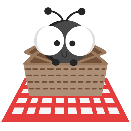 Ant clipart picnic basket. In svg cutting files