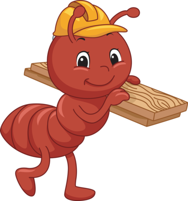 Ant clipart png. Hard working familia pinterest
