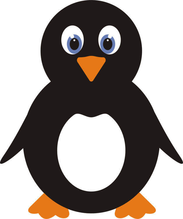 Copy drawing penguin. Clip art christmas antarctica