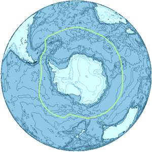 Antarctica drawing background. Subantarctic wikipedia the region
