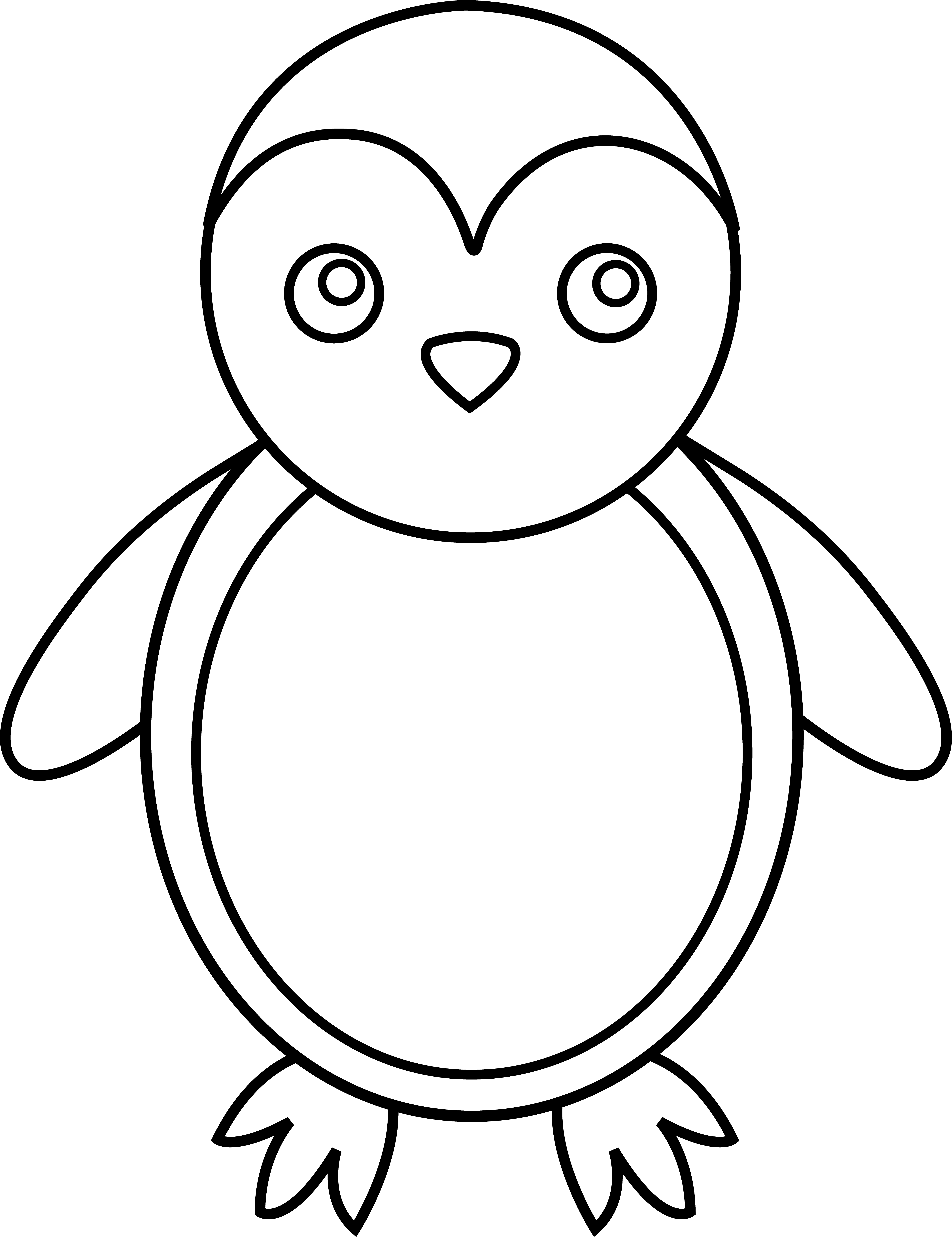 Penguin clipart black and white. Antarctica drawing clip art