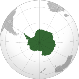 Antarctica drawing underwater. Wikipedia this map uses