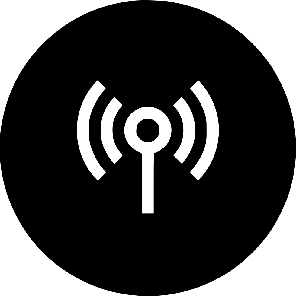 Antena Wifi Signal Waves Wireless Svg Png Icon Free Download