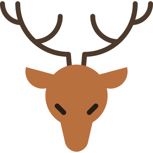 Hipster antlers png. Hunted icon repo free