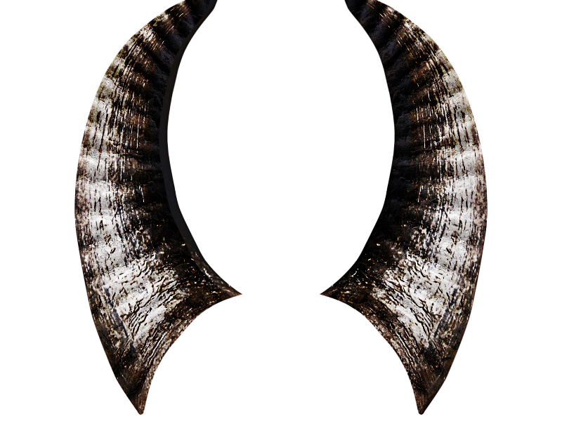 maleficent horns png