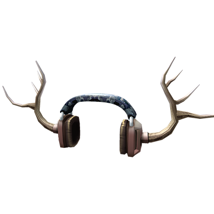 Antlers png transparent. Image antler headphones roblox