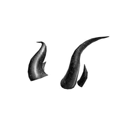Horns png. Catalog black iron roblox clip art black and white stock