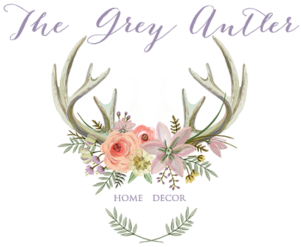 Antlers with flowers png. Deer wreath stand the