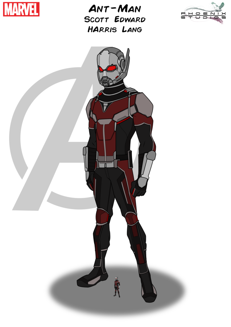 Antman drawing. Ant man by kyle