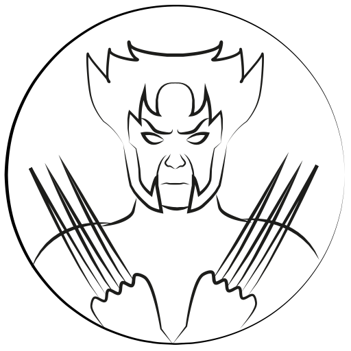 Antman drawing outline. Marvel hero x man