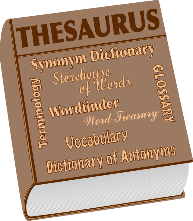 Drawing thesaurus clipart. Dictionary transparent stock