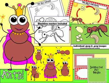 Ants clipart worker ant. Teaching resources teachers pay