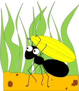 Ants vector cartoon. Ant free images at