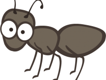 Ants vector clipart. Free ant illustrations and
