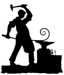 Anvil clipart blacksmith. Images for colonial clothing