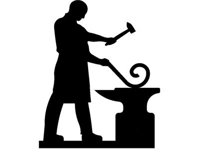 Anvil clipart blacksmith. Free illustrations and stock